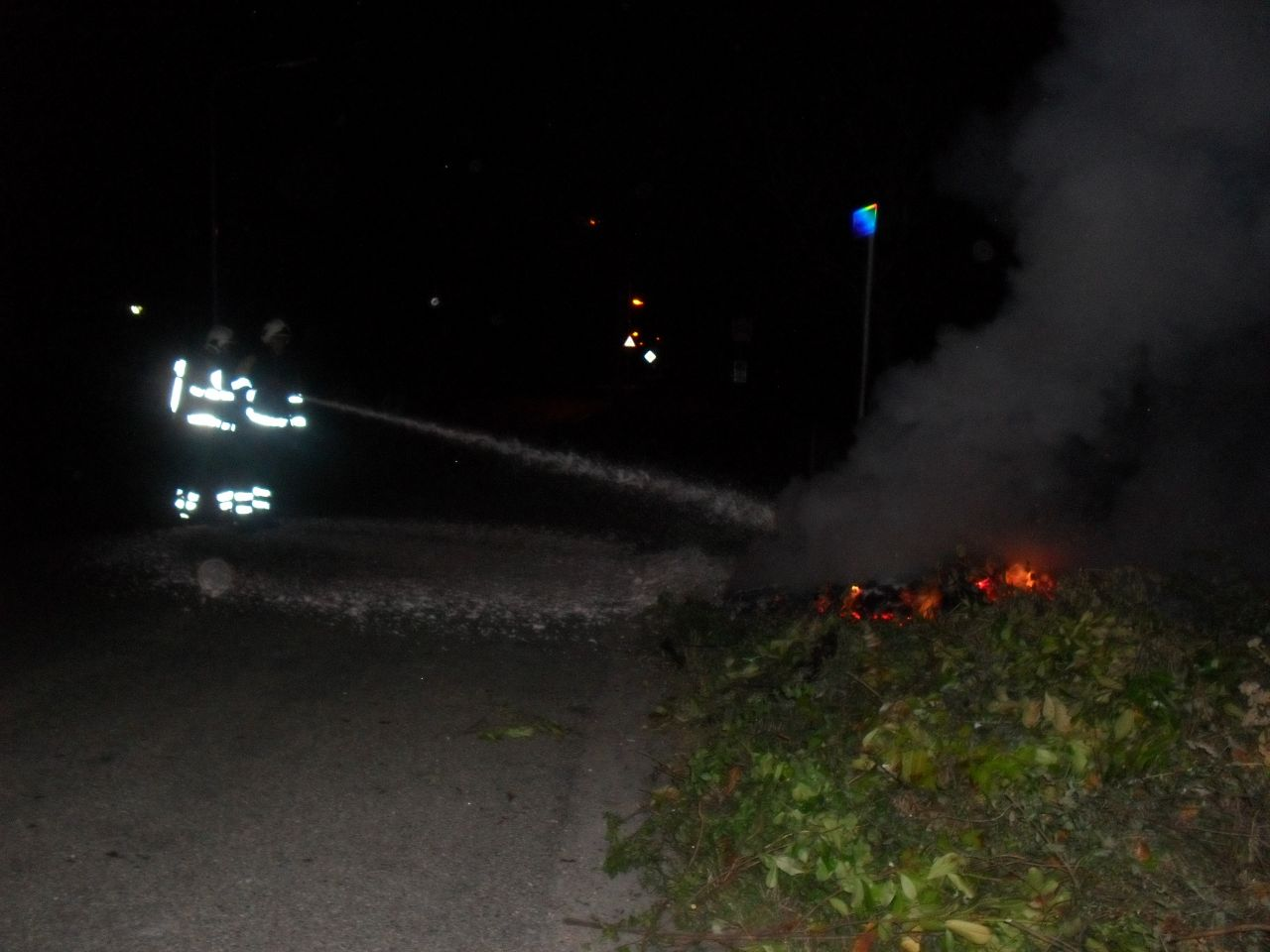 Buitenbrand in Tzummarum