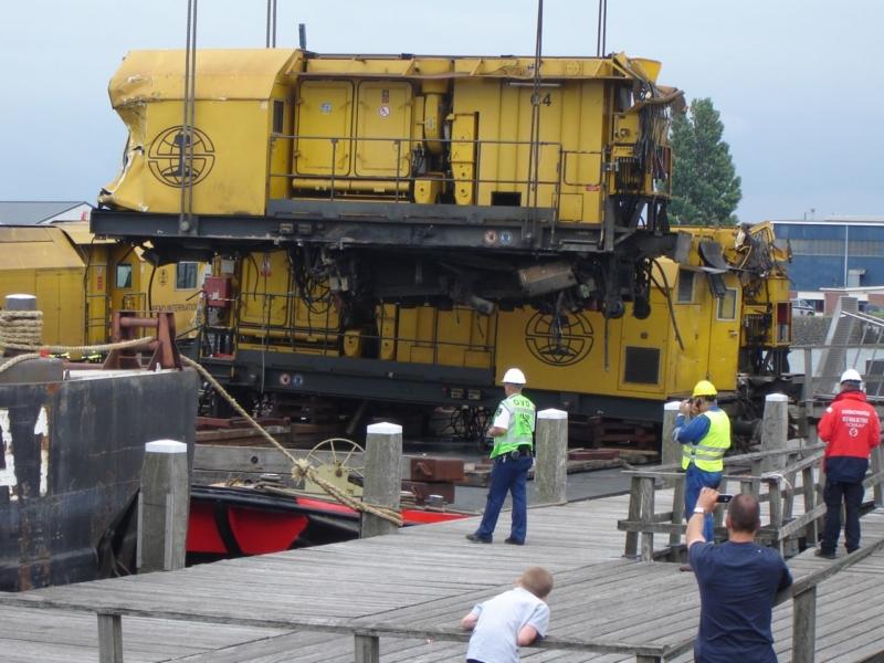 Berging trein voltooid