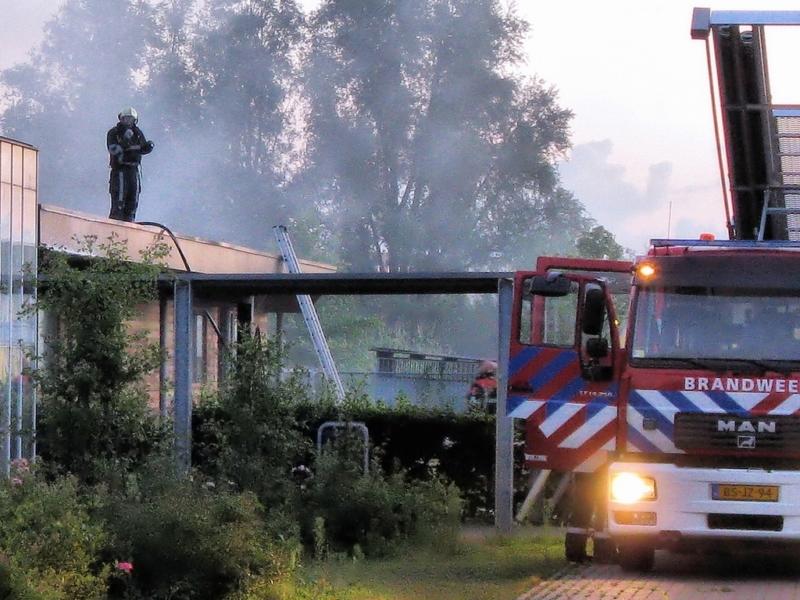 Brand in dierenverblijf AOC Friesland(Update)