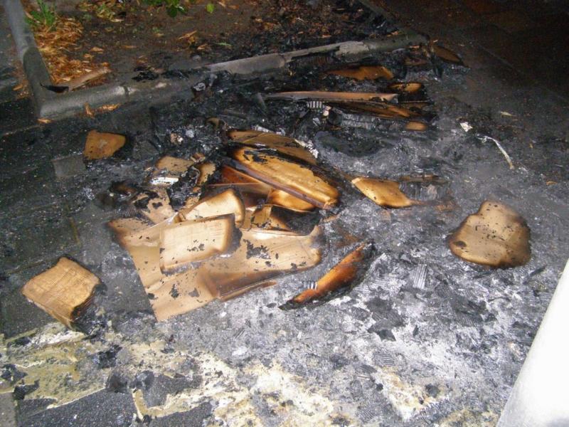 Kleine nachtelijke brand snel geblust