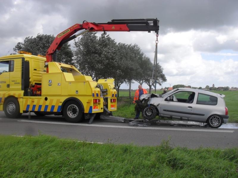 Drie gewonden bij ongeluk Schaard