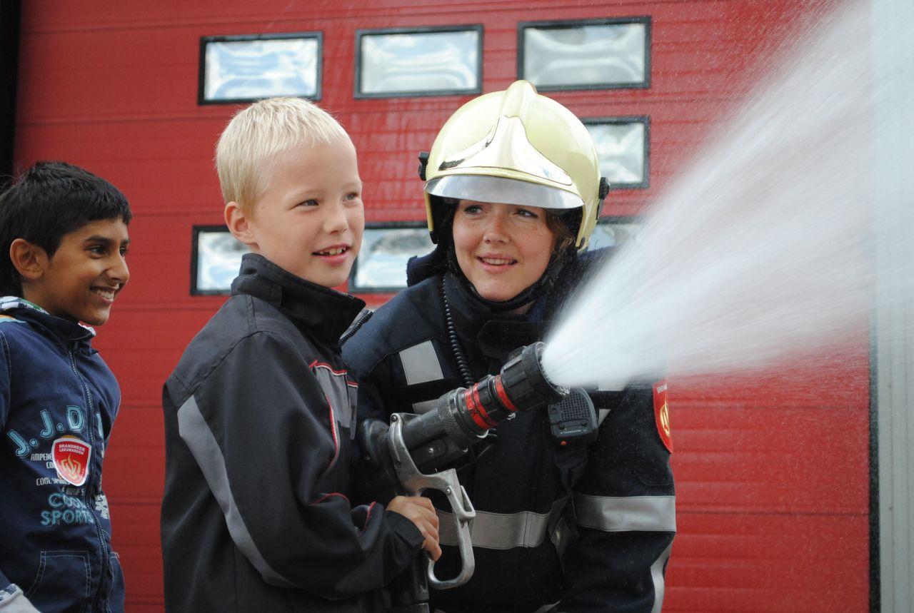 Open dag brandweer Leeuwarden