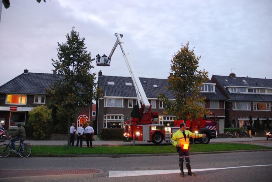 Onderzoek naar schoorsteenbrand