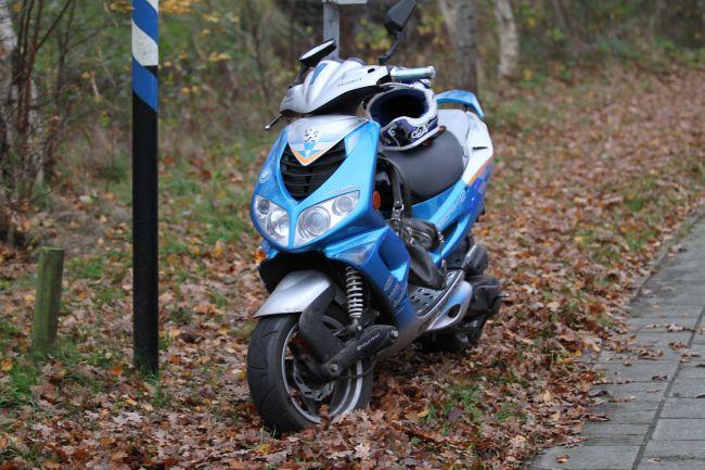 Meisje gewond bij ongeval met scooter