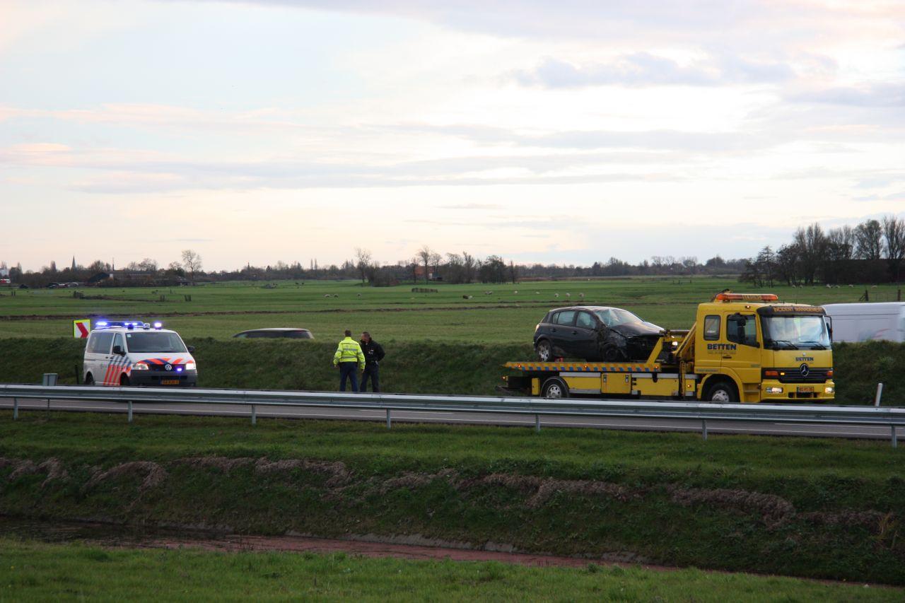 Eenzijdig ongeval op de A7