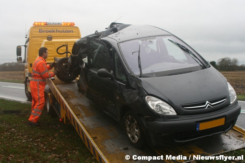 Twee gewonden bij verkeersongeval