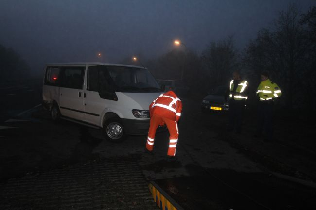 Met de schrik vrij bij ongeval