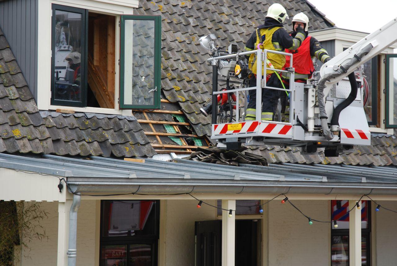 Brand in cafe van Piet Paulusma