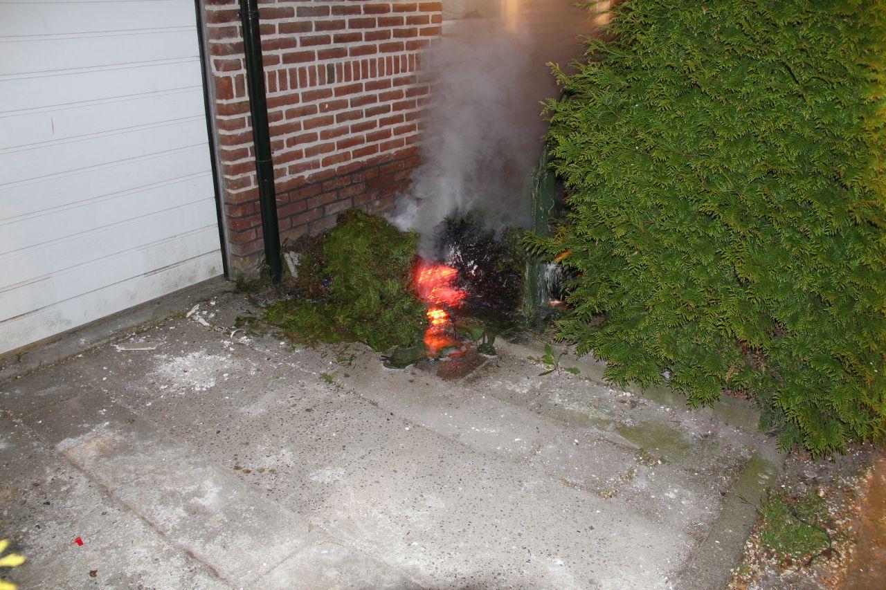 Opnieuw brand door nachtelijke pyromaan