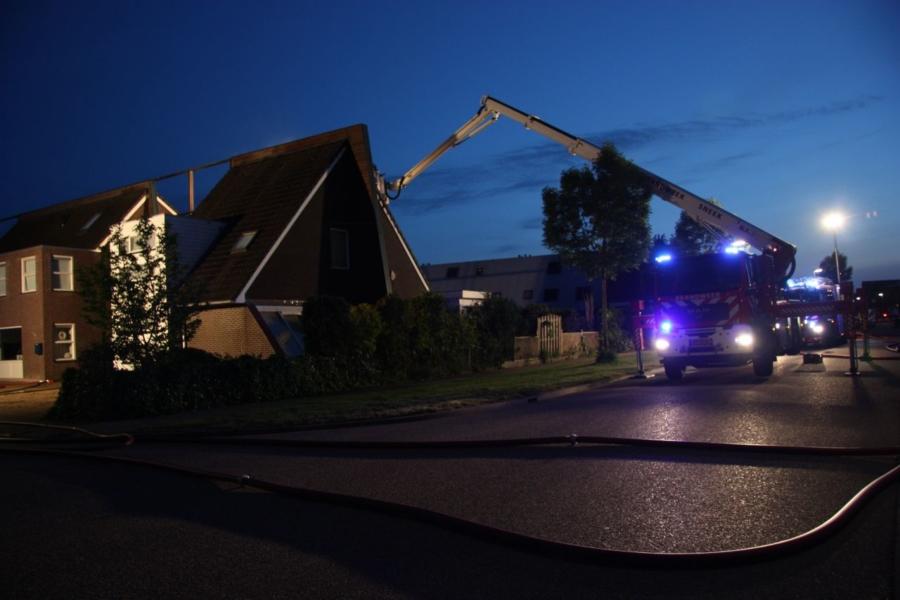 Bovenverdieping verwoest door brand