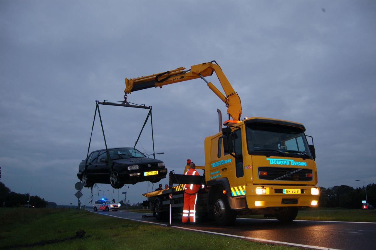 Twee personenauto's betrokken bij ongeval