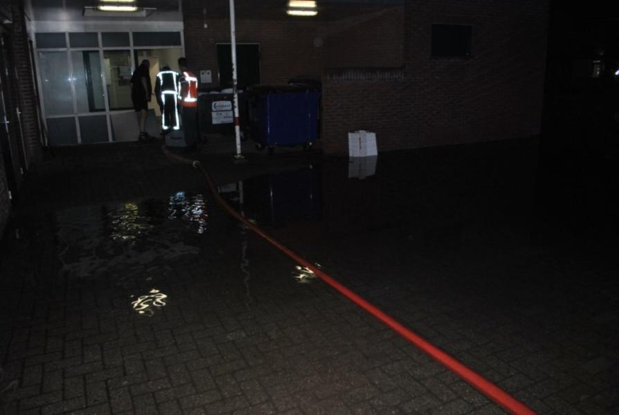 Wateroverlast in zorgcentrum