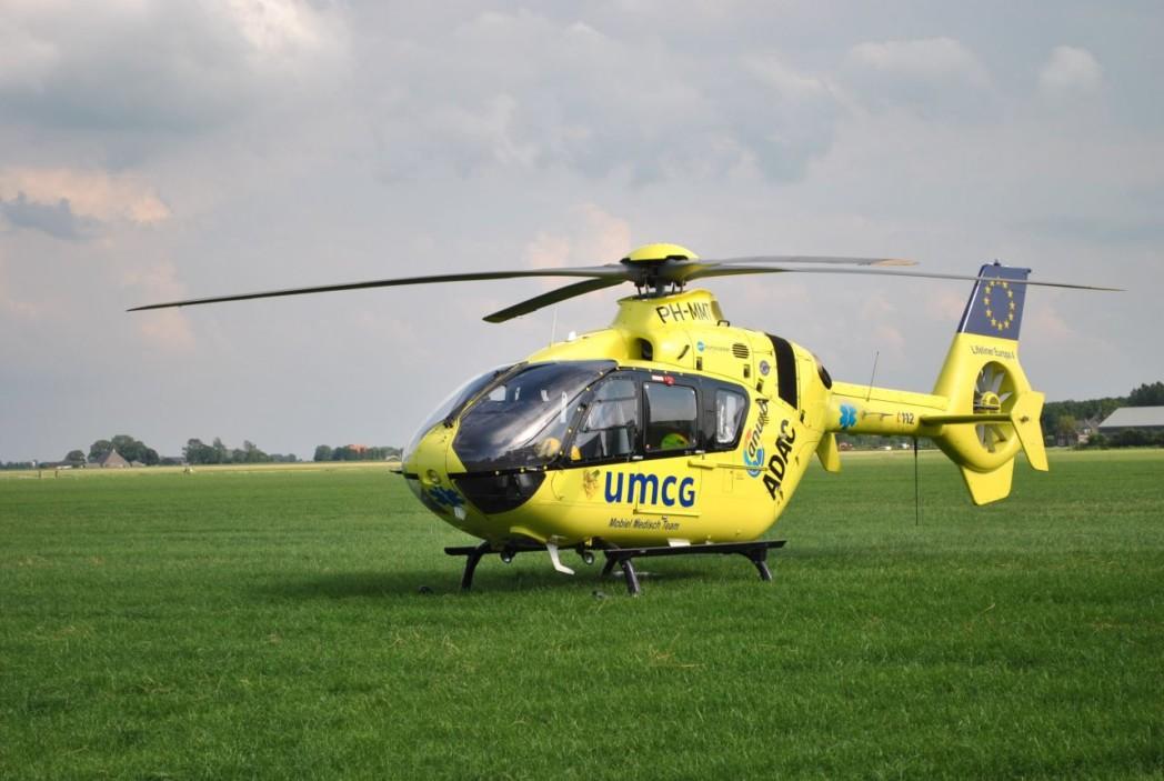 Standplaats traumahelicopter niet langer bij UMCG