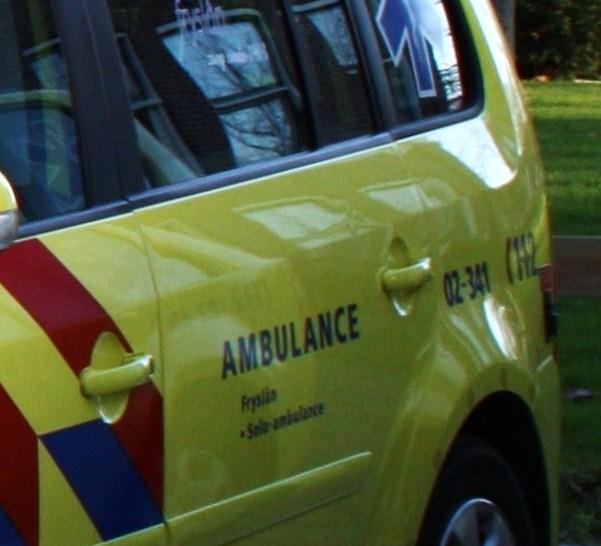 Auto in bosjes : bestuurder bekneld