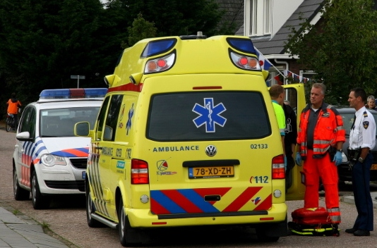 Traumaheli ingezet voor kind met brandwonden