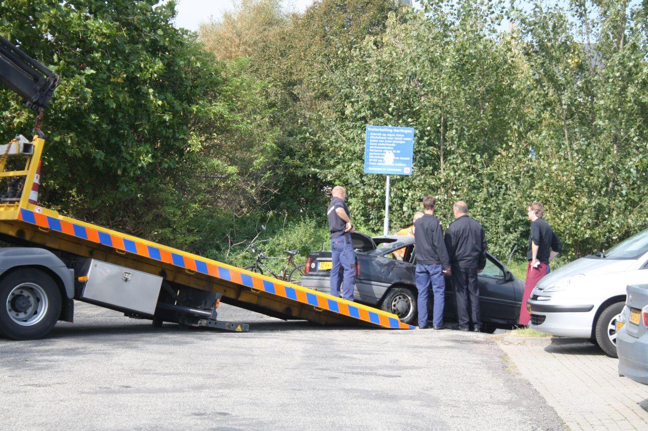 Gestolen auto gevonden in de Rozengracht