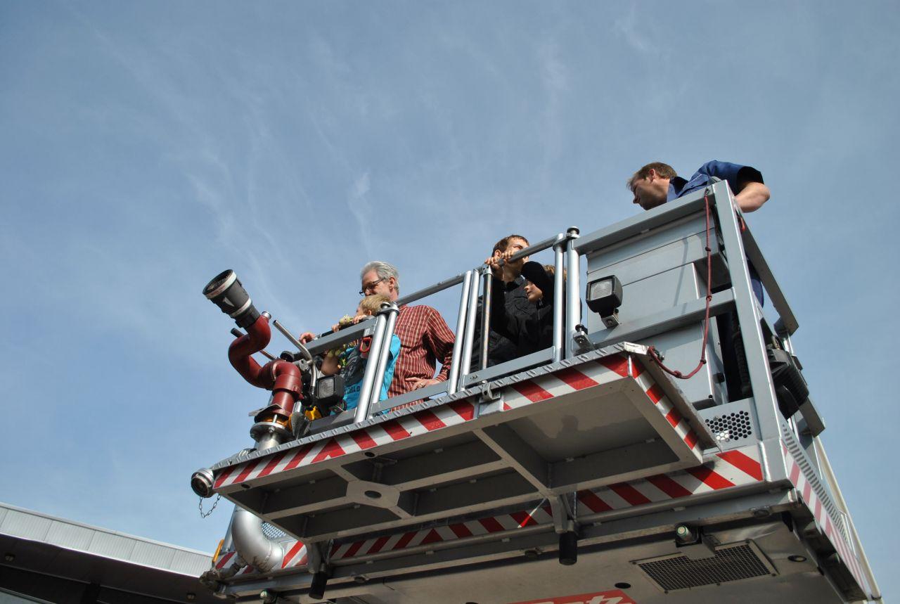 Open dag Post Noord brandweer Leeuwarden