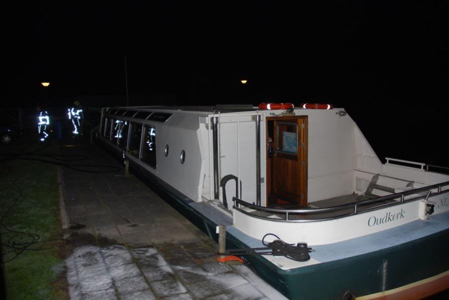 Rookontwikkeling op rondvaartboot