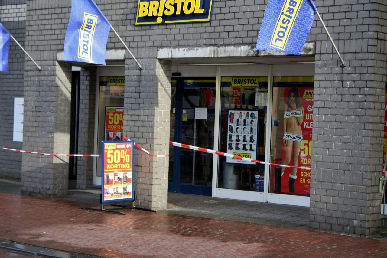 Overval Bristol Leeuwarden