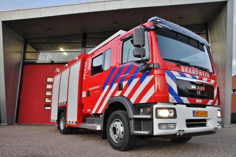 Nieuwe tankautospuit 02-6134 in dienst