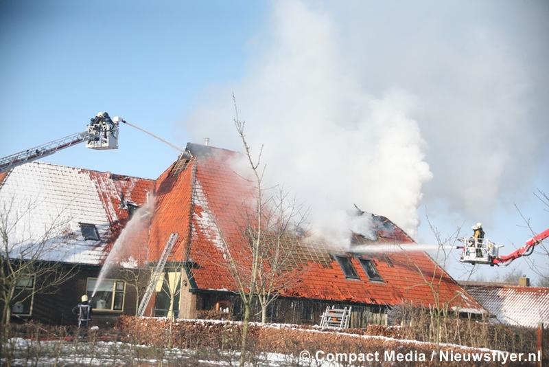 Grote uitslaande brand