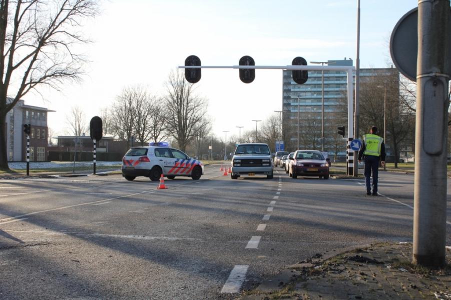 Ongeval door defecte verkeerslichten