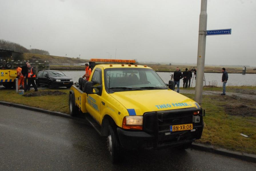 Vrouw gered door taxichauffeur (update)