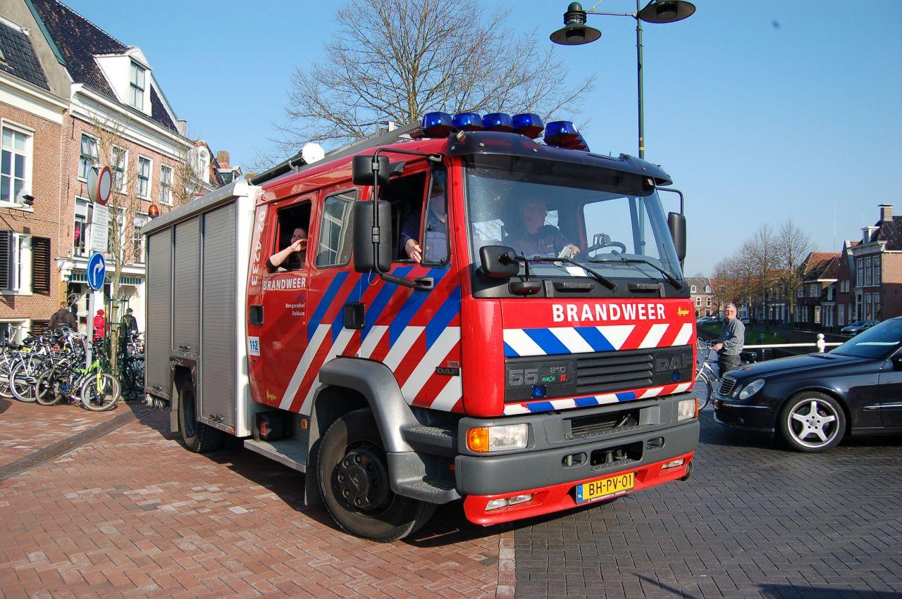 Brandweerman stapt in het huwelijksbootje