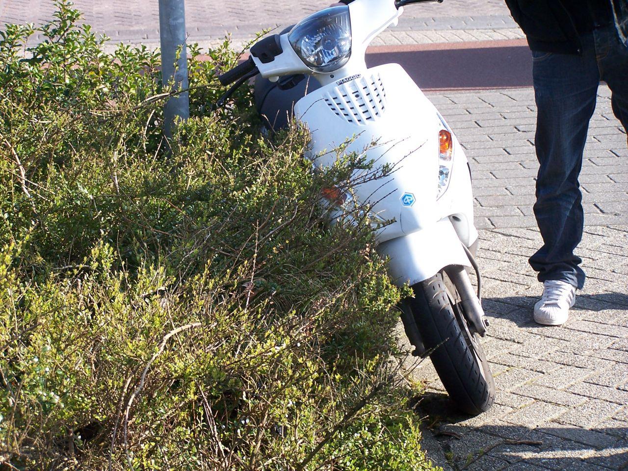 Aanrijding auto-scooter