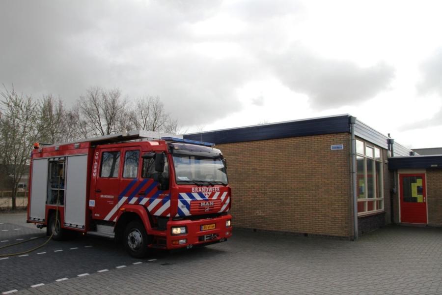 Grote oefening voor brandweer Noordwest Friesland