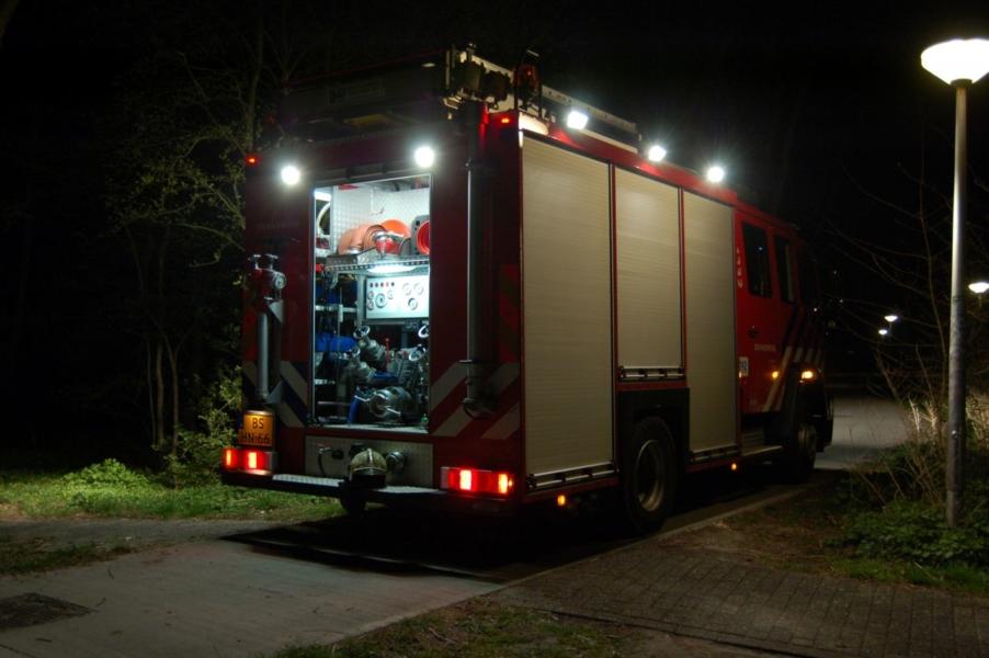 Buitenbrand blijkt kampvuur
