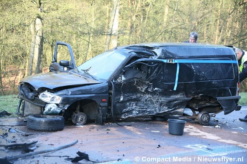 Dodelijk verkeersongeval op de N381