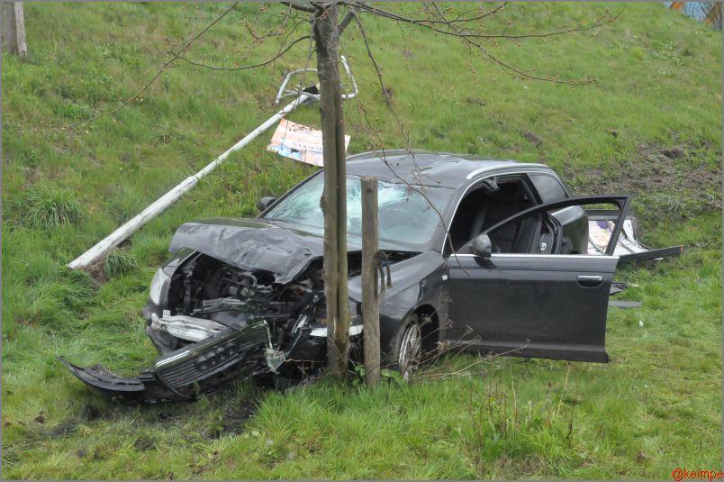 Rijbewijs ingevorderd na eenzijdig ongeval