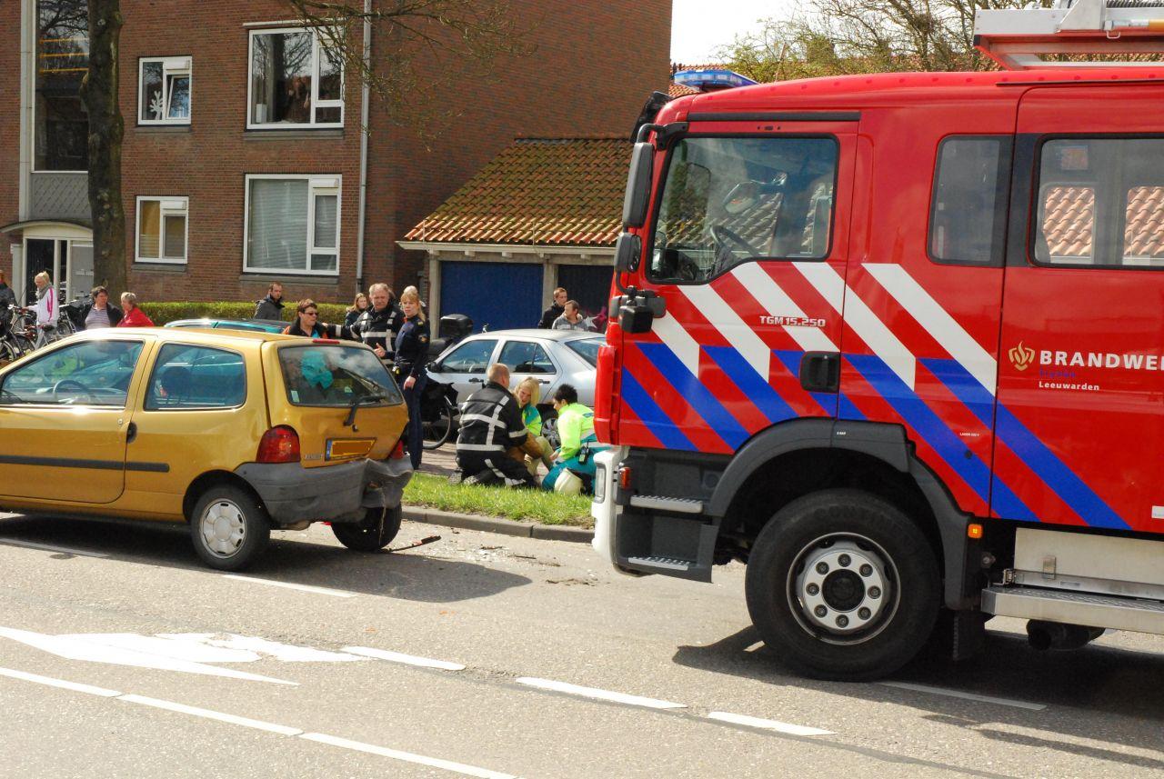 Geen gewonden bij ongeval