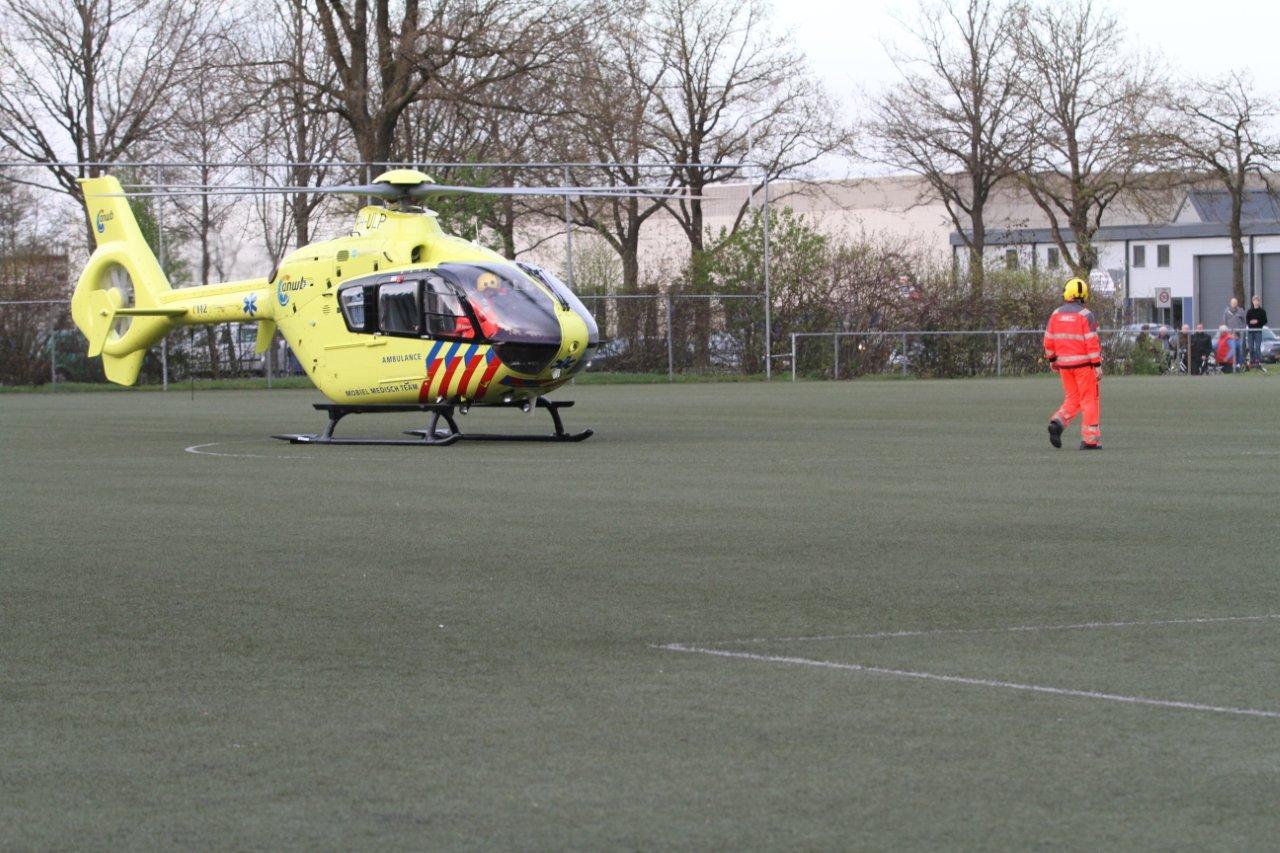 Trainer gewond bij training
