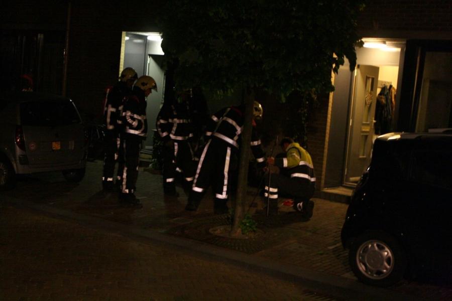 Brandweer lang bezig met gaslek in woning