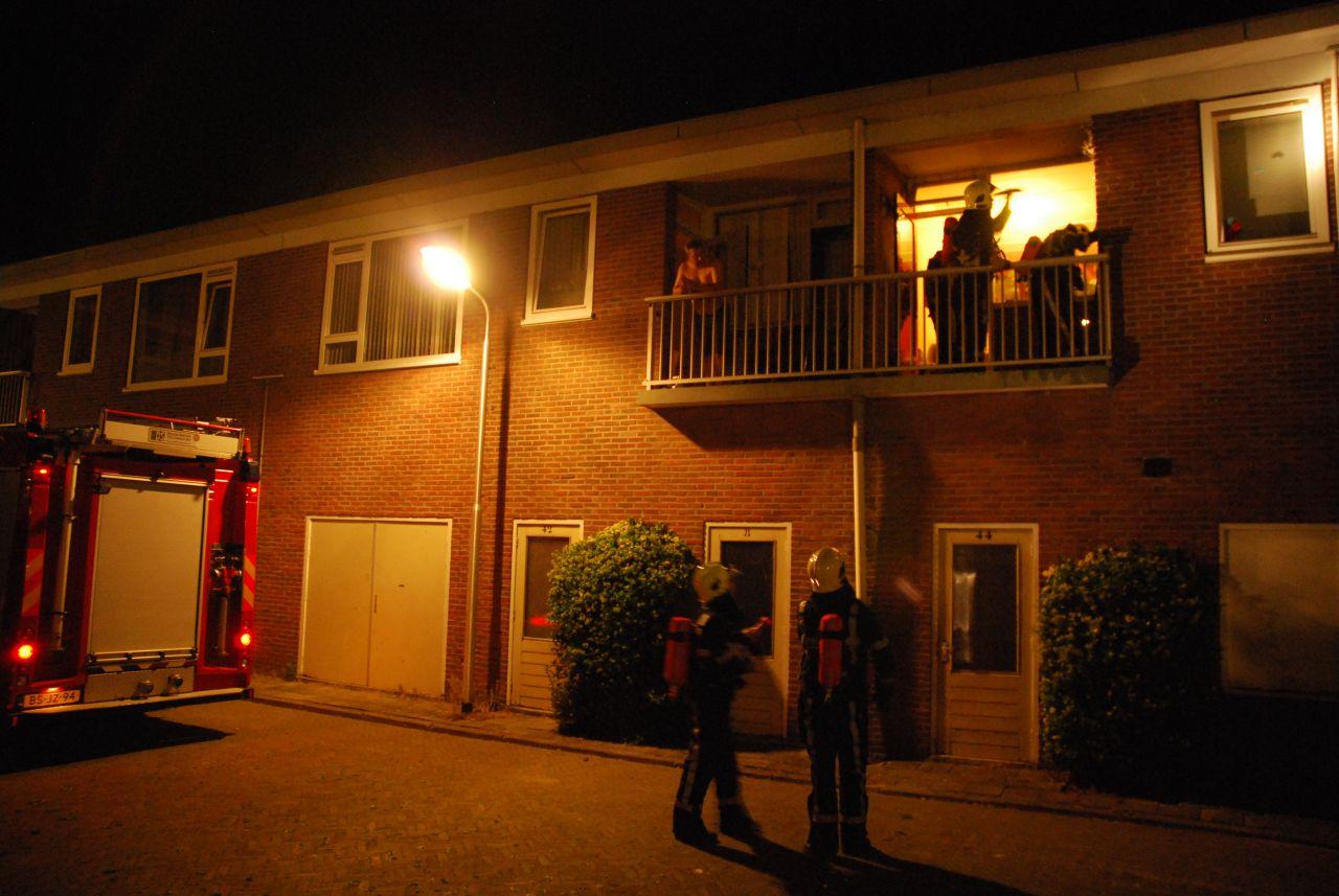 Woningbrand blijkt brandje op balkon