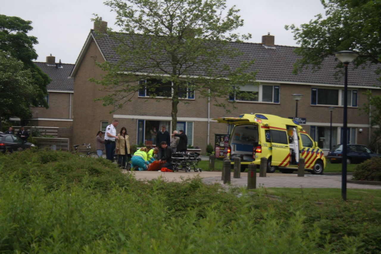 Voetganger aangereden in Harlingen