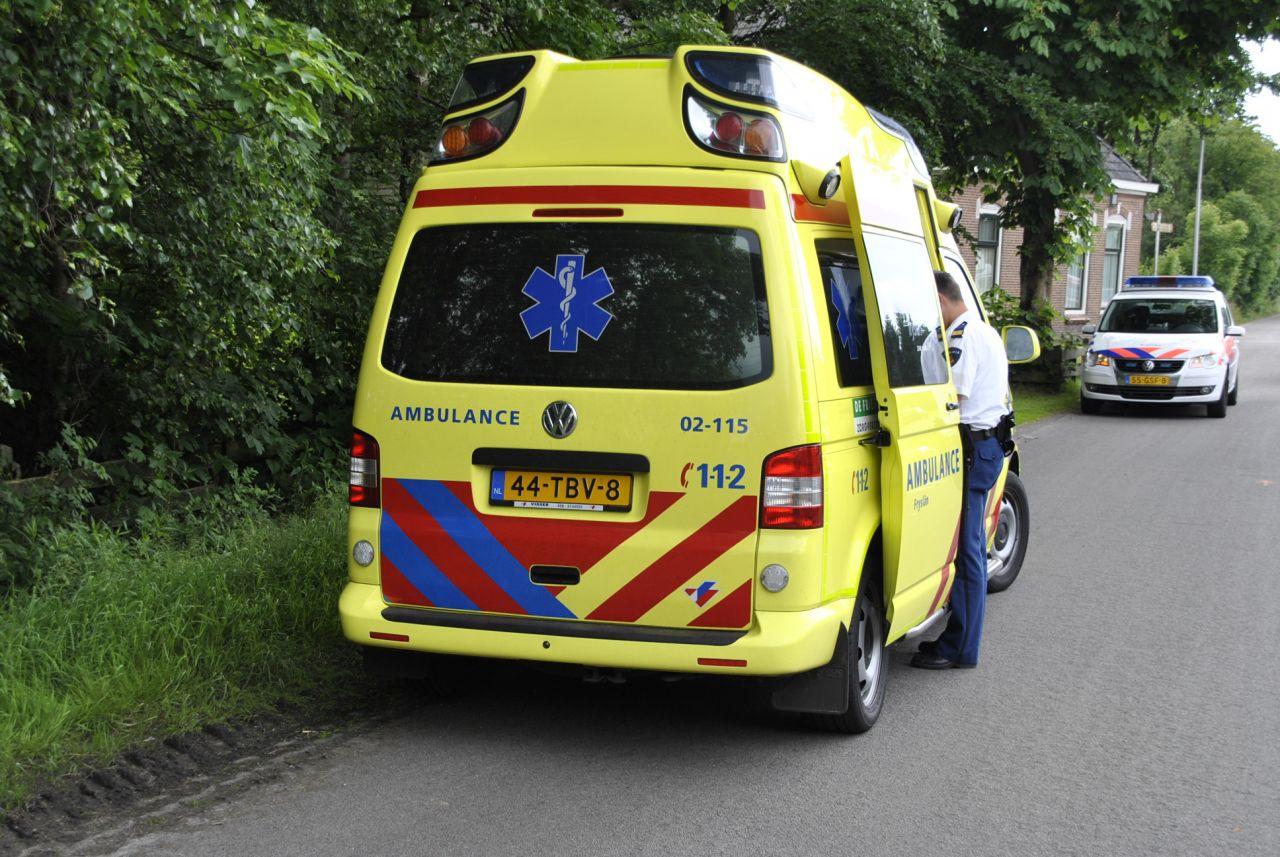 Scooterrijder gewond bij ongeval