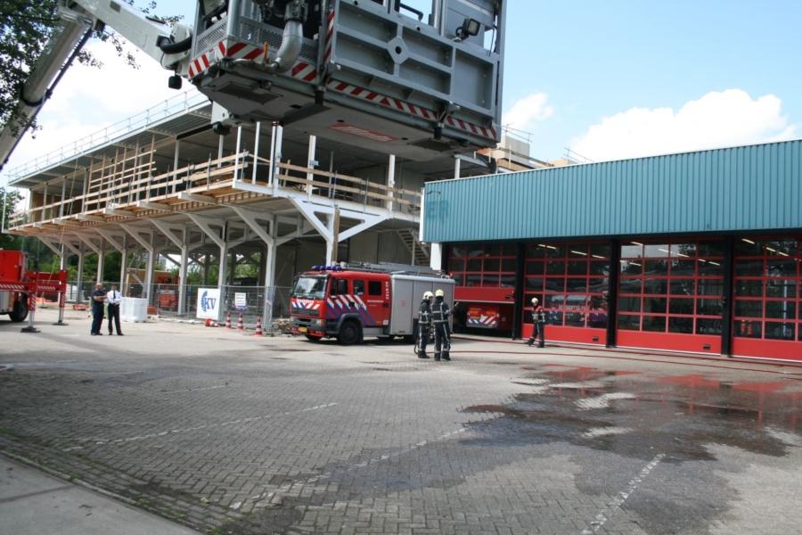 Ereteken ter herdenking van omgekomen brandweerlieden