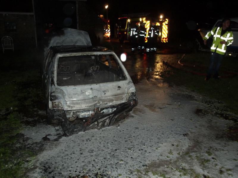 Bewoners voorkomen boerderijbrand