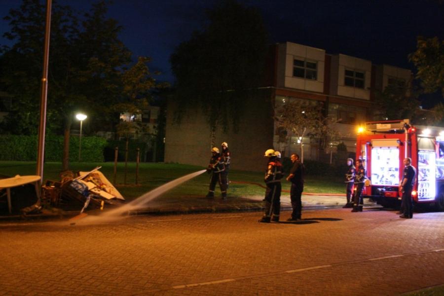 Brandweer ingezet voor lekkende vaten