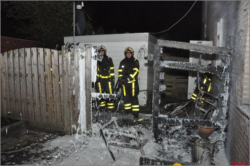Brandstichtingen in Heerenveen