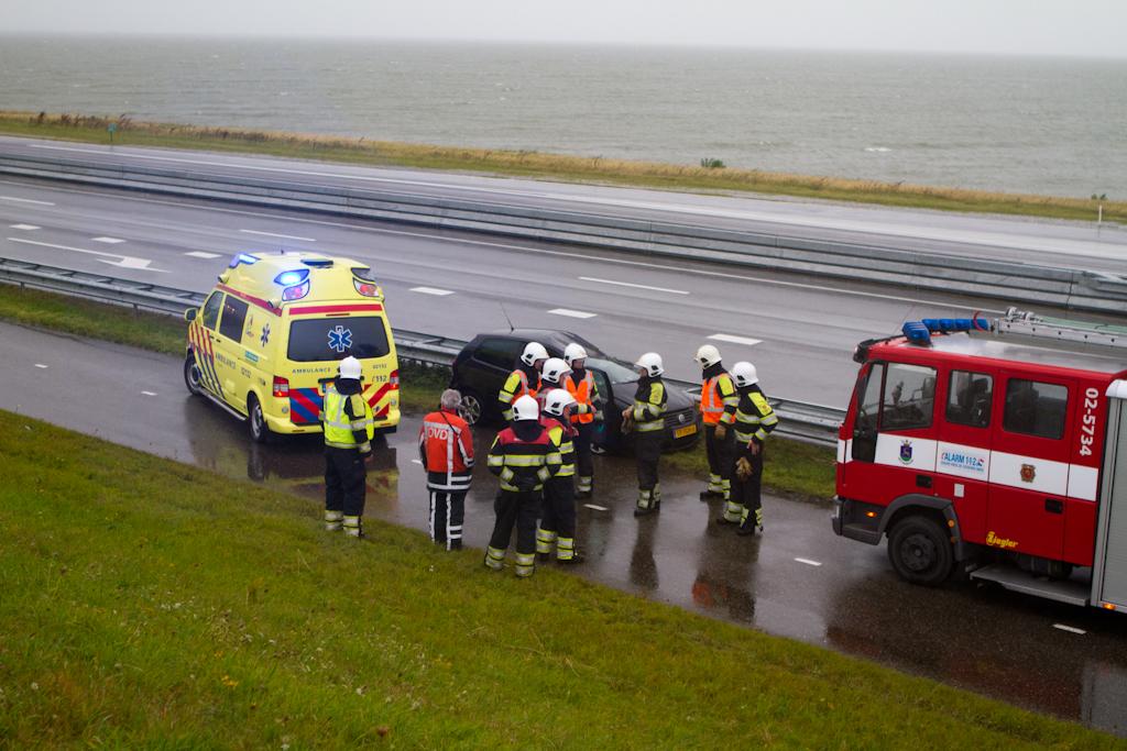 Persoon zwaar gewond na ongeval