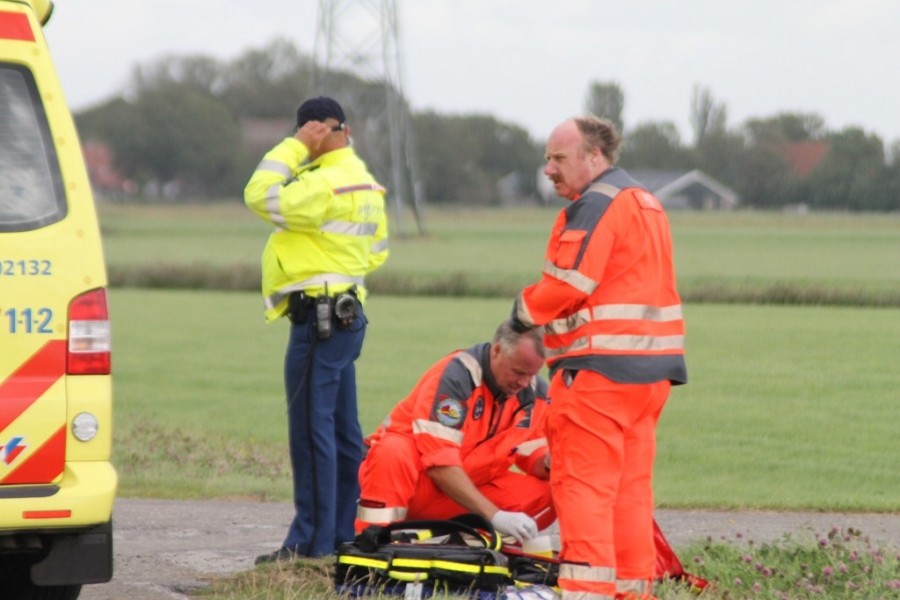 Wielrenners ernstig gewond na ongeval