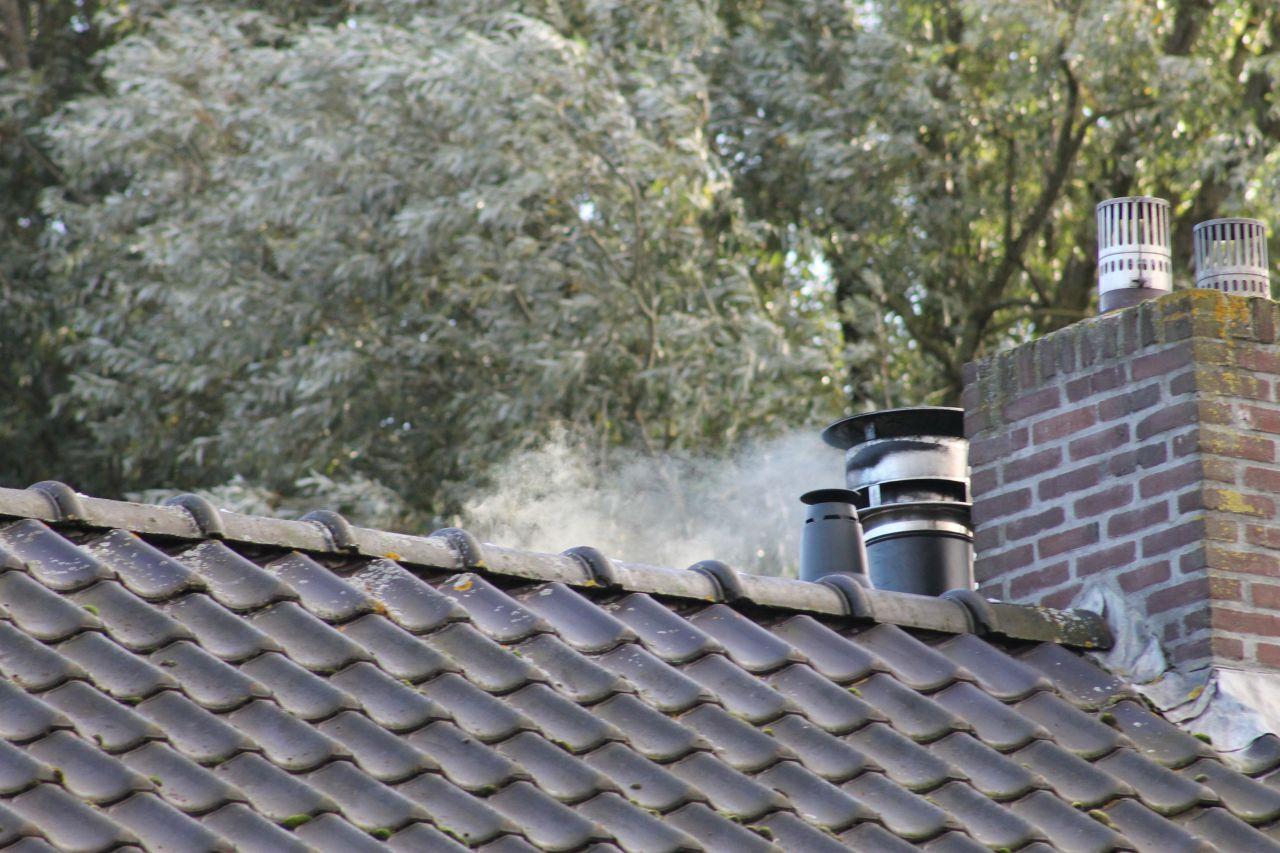 Schoorsteenbrand blijkt loos alarm