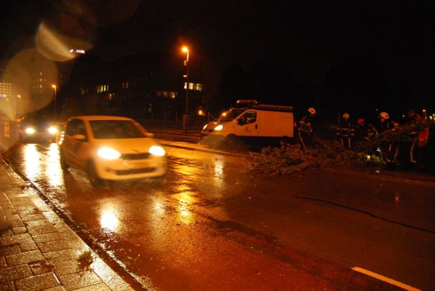 Inzet brandweer in Fryslân voor stormschade