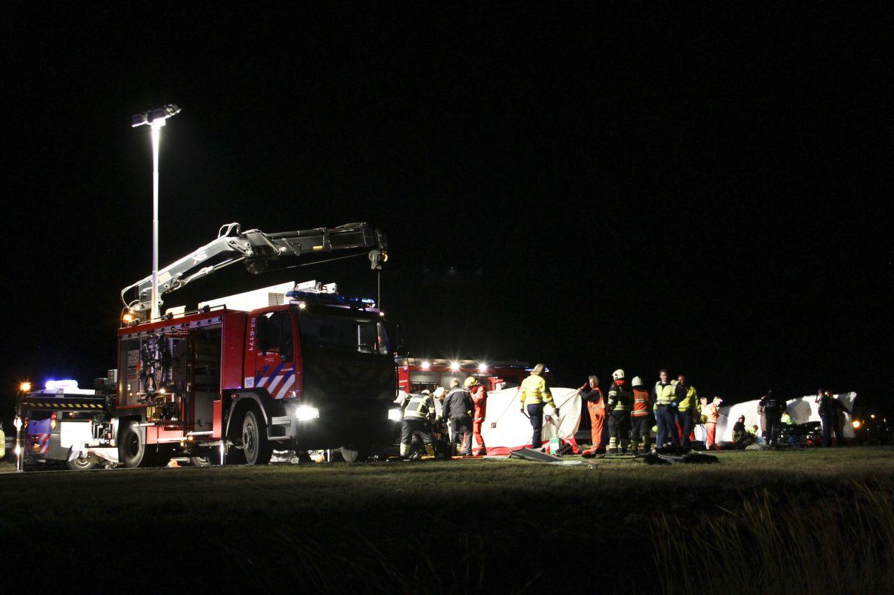Ernstig ongeval op Waldwei (N31)