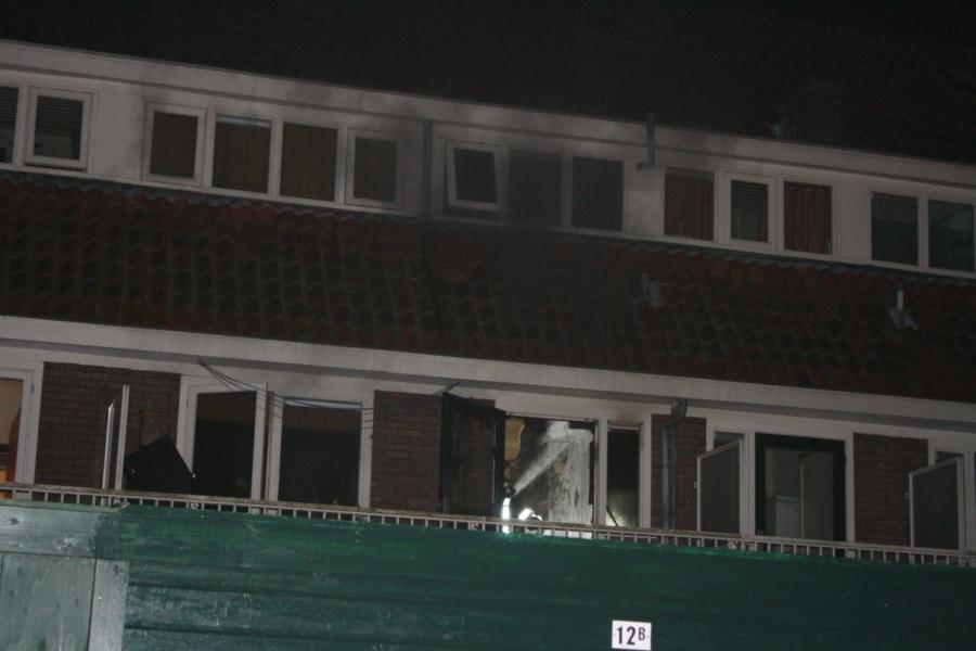 Uitslaande brand verwoest keuken