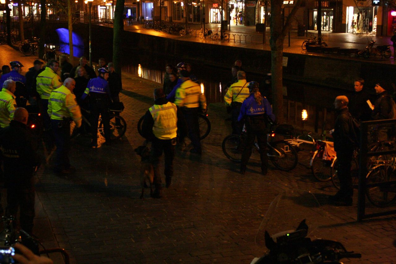 Oefening politie en horeca